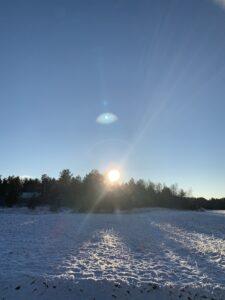 Winterlandschaft RelaxRanch
