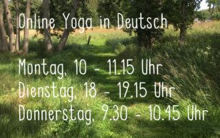 online yoga mit Ilvy